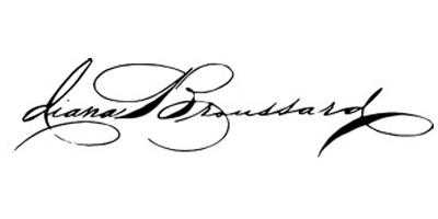 DIANA BROUSSARD Logo