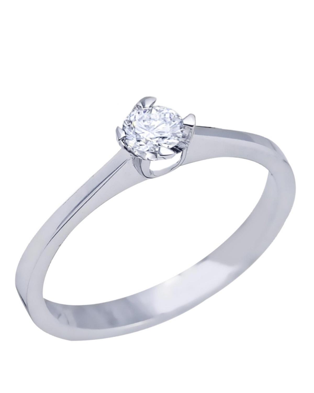 Μονόπετρο δαχτυλίδι SAVVIDIS από λευκόχρυσο 18K με διαμάντι - kosmima.gr 9d2ce123d4d