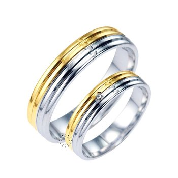 Wedding rings from 18ct Gold