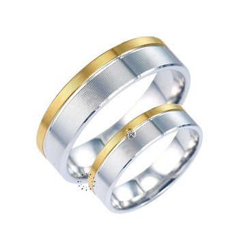 Wedding rings from 14ct Gold
