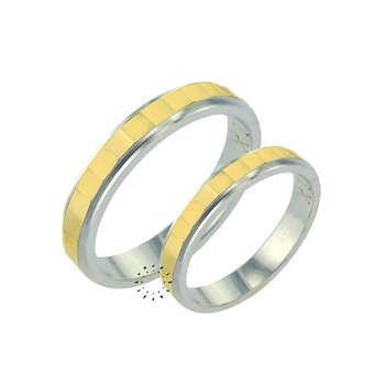 Wedding rings 14ct Gold and