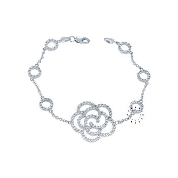 Bracelet 14ct White Gold by