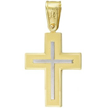 Cross 9ct Gold and Whitegold