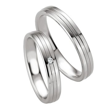 Wedding rings in Silver 925