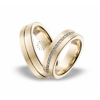 Wedding rings in 14ct Gold