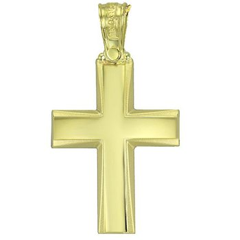 Cross 14ct Gold by TRIANTOS