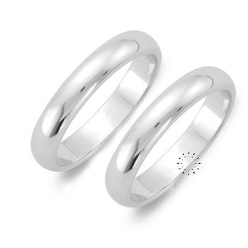 Wedding rings in 14ct