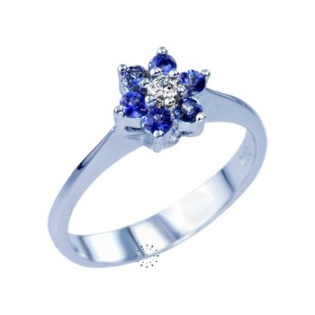 Ring 18ct with Diamond and