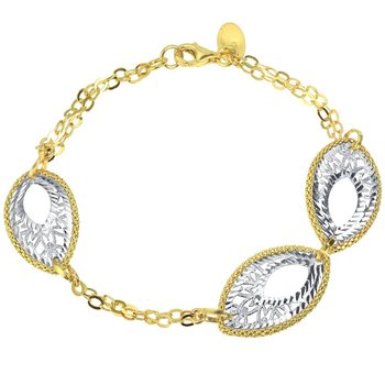 Bracelet 14ct Yellow and