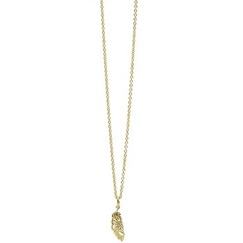 Pvd brass necklace