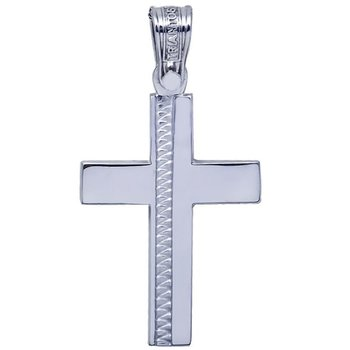Cross 14ct White Gold with