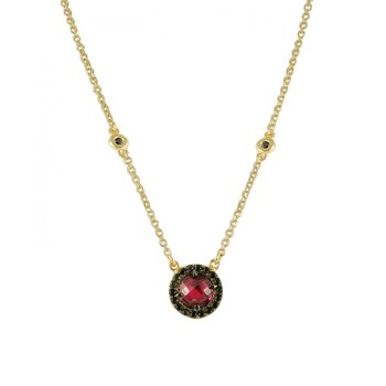 Necklace in 14ct gold with