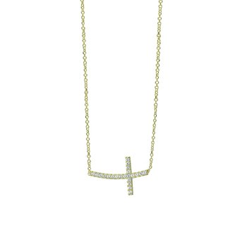 Necklace 14ct Gold with Cross