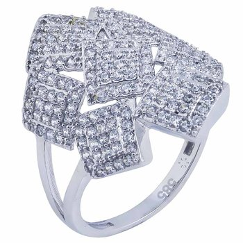 Ring in gold 14ct with zircon