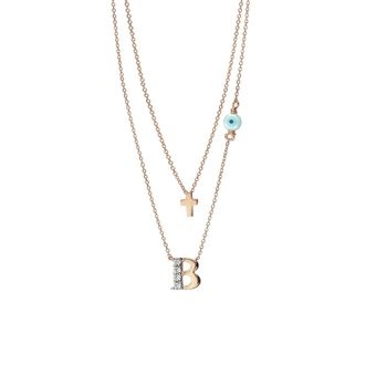 Necklace 14ct Pink Gold