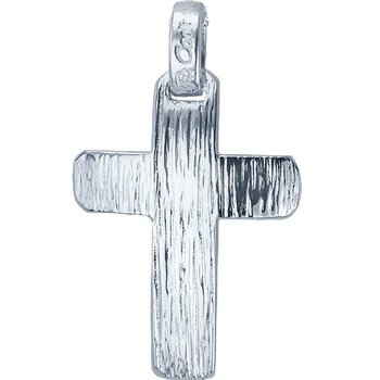 Cross 14ct White gold