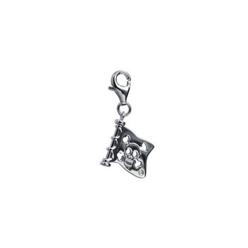 Silver Pendant Jolly Roger by