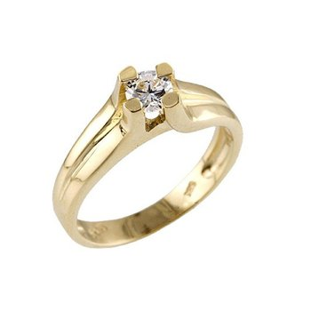Ring 14ct Yellow gold with