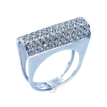 Ring 18ct White gold with