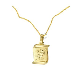 14 K Gold Zodiac Virgo