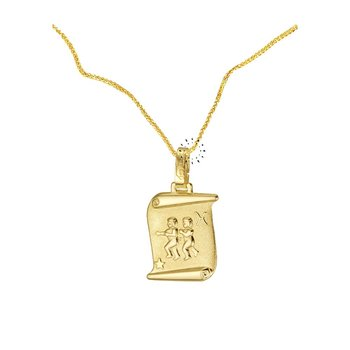 Zodiac 14ct Gold Twin