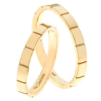 Wedding rings 14ct Gold by