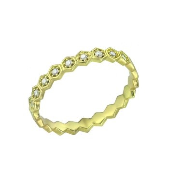 Ring 18ct Gold with Diamond