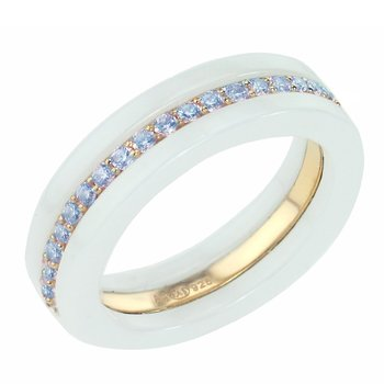 Ring 925° Silver by Apm Monaco