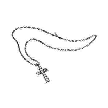 Stainless steel pendant cross