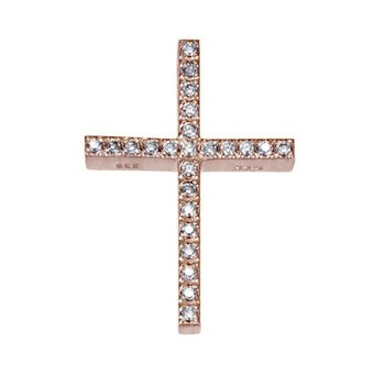 Cross 14 Carats Rose Gold