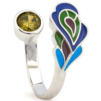CHRYSALIS Nature Brass Ring