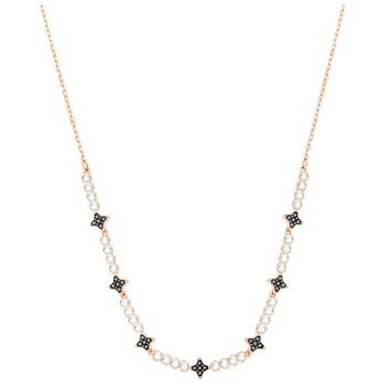 SWAROVSKI Black Halve Necklace