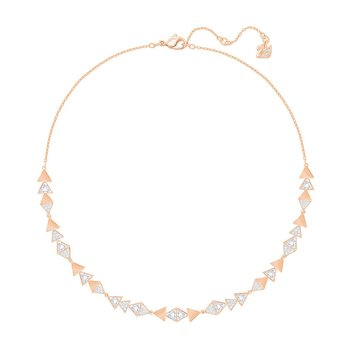 SWAROVSKI White Heroism Necklace, Large