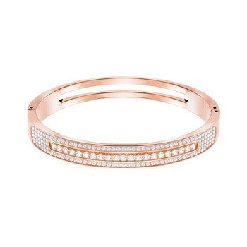 SWAROVSKI White Live Wide Bangle (M)