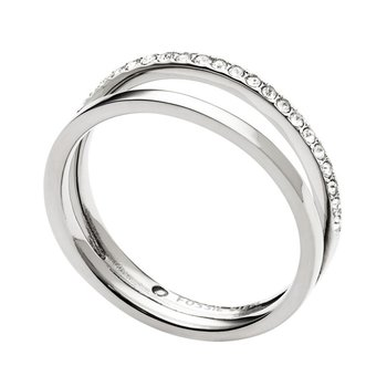 Stainless Steel Ring by FOSSIL