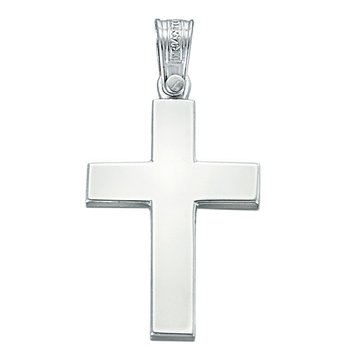 Cross 18ct White Gold by