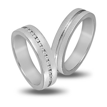 Wedding Rings in 14ct White