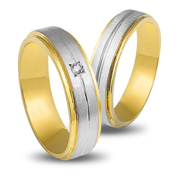 Wedding Rings in 14ct Yellow