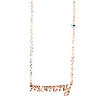 Necklace mommy 14K Rose Gold