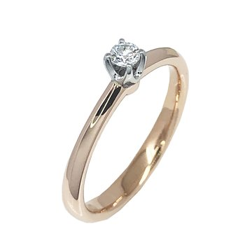 Ring 18ct Rose Gold and