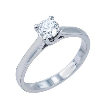 Ring 18K White Gold with