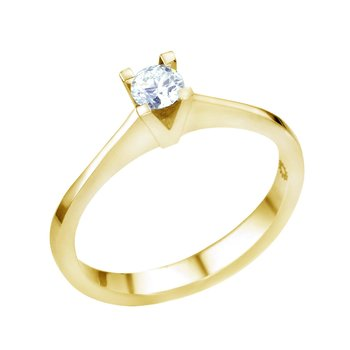 Ring 18K Gold with Diamond