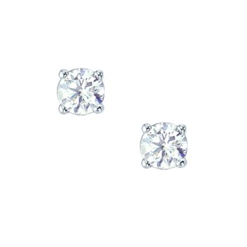 Earrings 18ct White Gold