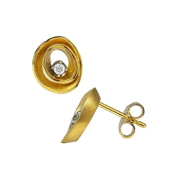 Earrings 18K Gold with