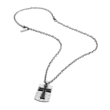 Stainless steel pendant with