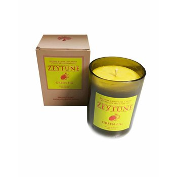 Candle ZEYTUNE with green fig