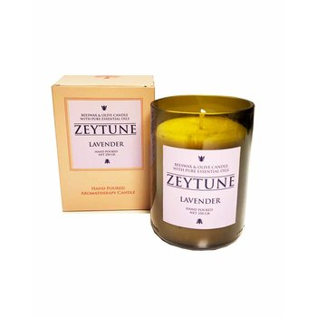 Candle ZEYTUNE with lavender