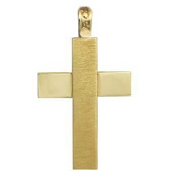 Cross 14ct Gold by FaCaDoro