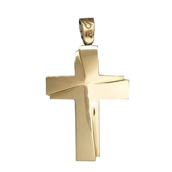 Cross 14ct White Gold and