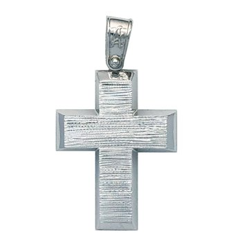 Cross made from 14ct White